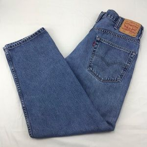 Levis 550 relaxed loose fit jeans 38 x 30